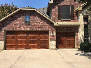 Residential Wooden Garage Door