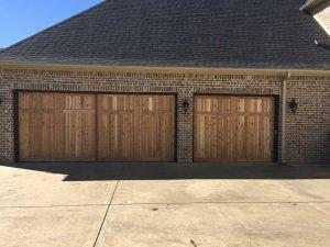 Wooden Garage Door Install